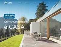 Crema Costruzioni Website