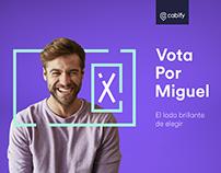 Cabify - Vota por Miguel