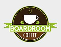 Boardroom Coffee logo design