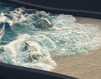 Waves simulation