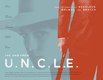 The man from U.N.C.L.E. alternative poster concept