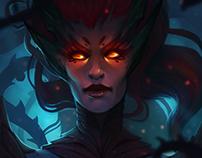 League of Legends fan art : Zyra