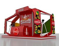 COCA COLA Booth 3X6