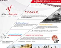 Aliança Francesa SP: Agenda Cultural