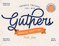 FREE | Guthers Monoline Script Font