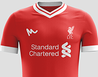 2016 Liverpool Concept Kits by Metcalfe
