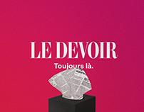 Le Devoir | Campagne La Presse