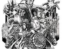 Wonder Woman - 2 Separate Worlds