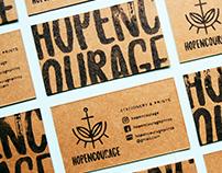 Hopencourage Brand Identity