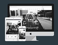 網站設計 | 實現音樂工作室