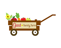 Family Farm Logo Illustration