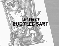 BeStreet- Bootleg Bart -Illustration - Black Pen Ink