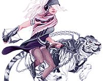 Character concept art - Ice Skater