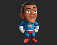 Barack Obaman 3d  (old stuff)