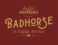 Badhorse Font