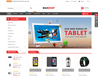 SJ Maxshop - A modern design for any online stores