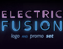 Electric Fusion Logo and Promo Set