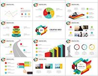 126+ Best business infographics chart PowerPoint templa