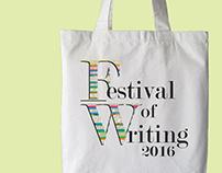 Festival of Writing 2016