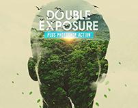 Double Exposure Plus Photoshop Action