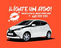 #LígateUnAygo | Toyota