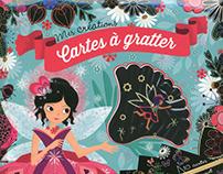 Carte a gratter - Gründ Editions