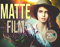 Premium Matte Film Lightroom Presets