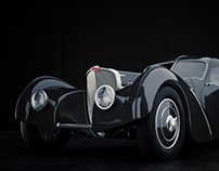 Bugatti Type 57SC Atlantic 1936