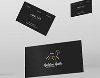 Business Cards - Golden Gaits Equestrain