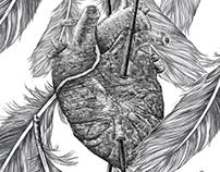 Ilustraciones Heraldos Negros, César Vallejo.