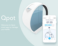 App and product design of Qpot