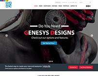GENISYS is a Dummy Website for Genisys Portfolio.