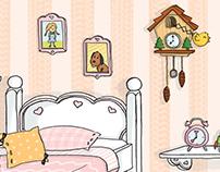 Doll's House 9/11 - Liza's Bedroom