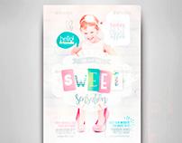 Sweet Sensation Flyer Template
