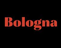 Bologna – Typeface