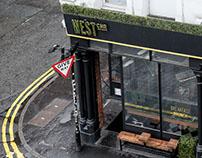 West Corner Diner Branding