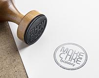 """""""MakeACake bakery"""" brand identity"""