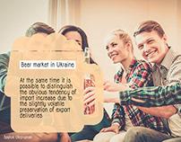 Estrategia creativa ¨Beer market in Ucraine¨
