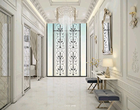 LUXURY CLASSIC VILLA - INTERIOR DESIGN -