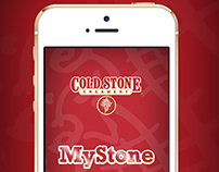 Cold Stone Creamery Mobile Application