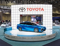 Toyota at the Washington DC Auto Show