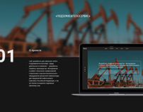 Website for a Russian industrial company