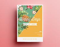 Happy Days | Print & Branding