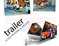 Trailer Wrap Illustration & Design