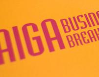 AIGA Business Breakfast