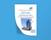 Rapport de stage - Community Manager