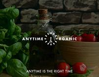 Organic Meal Prep Delivery Service Branding Logo