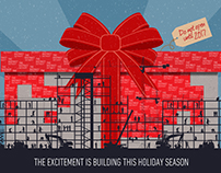 Red Wings Holiday Card