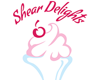 shear delights logo and Ad