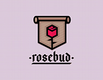 """#ThirtyLogos Day 6 - """"Rosebud"""""""